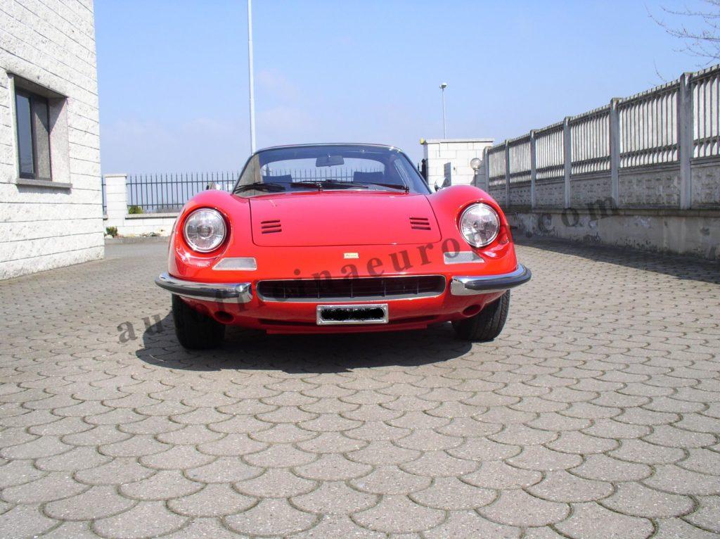 Ripristino totale Ferrari dino 246 gts
